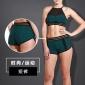 硅步运动短裤女夏新款速干瑜伽开叉健身提臀性感欧美弹性外贸热裤